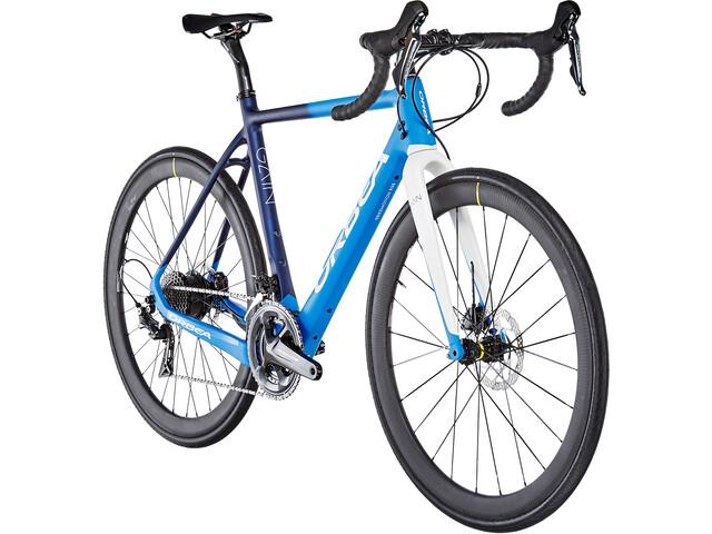 ORBEA Gain M10 E-bike Racer blå/hvid (2019) | Road bikes